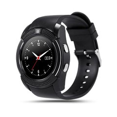 SMART WATCH V8 BLACK, Черный